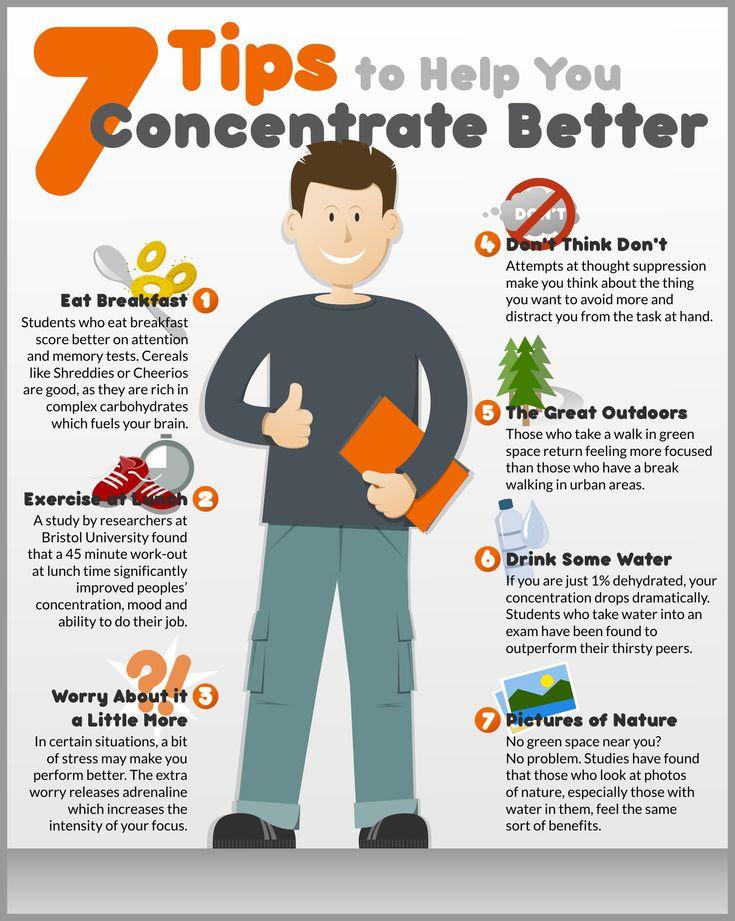 7 tips voor een betere concentratie