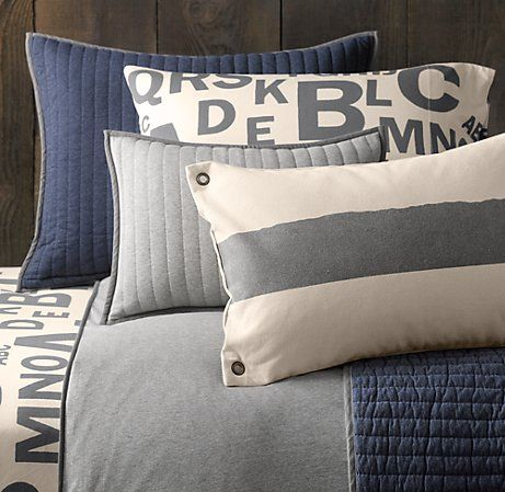 boys bedding-- I love these