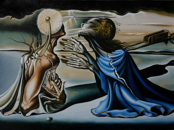 Tristan and Isolde by Salvador Dali