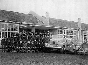 昭和25年から初任教育と現任教育が始まり、消防学校の教育訓練