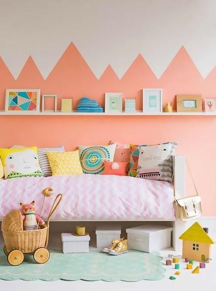 color block room trend - Suzette the fox!