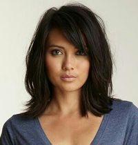 Outstanding 1000 Ideas About Bangs Medium Hair On Pinterest Medium Short Hairstyles Gunalazisus