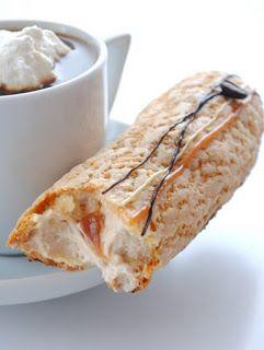 Kiskanál: Karamellás kávés eclair