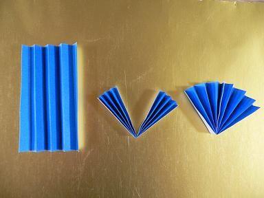 扇形の七夕飾り | 折り紙サロン - 楽天ブログ