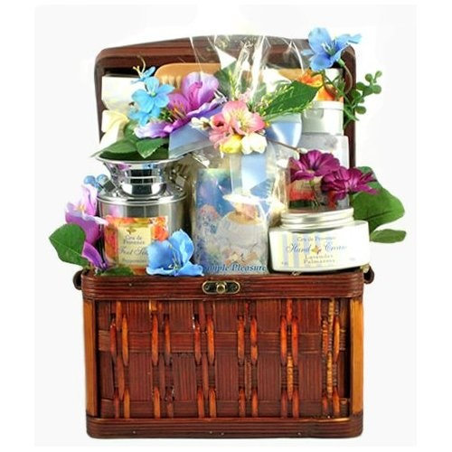 Gift Baskets For Womens Shelter : Perfectly pampered bath body spa basket for women