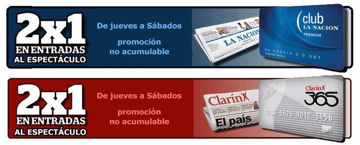 Descuentos especiales clientes Clarín 365 y Club La Nación