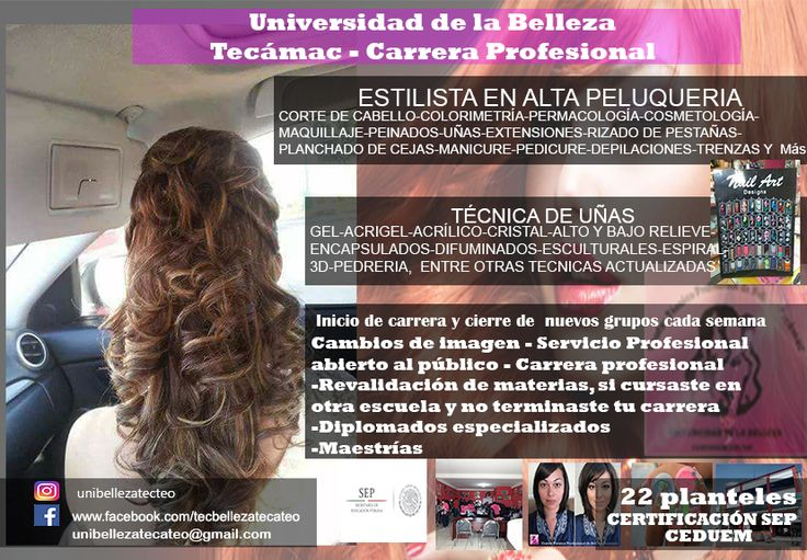 universidad  de belleza Tecámac y Teotihuacán 5