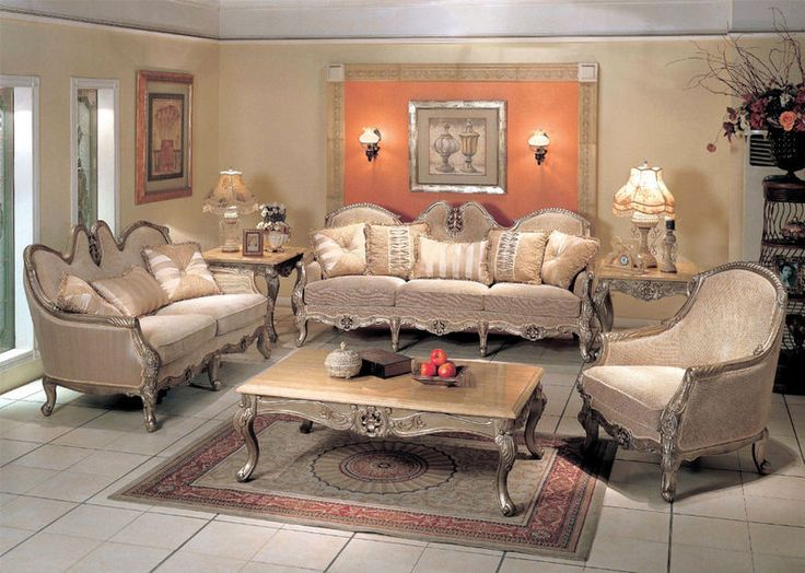 Image detail for -... Silver Gold Fabric Sofa Loveseat Living Room Set | Furniture Review