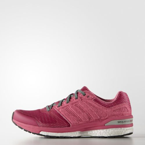 Adidas Supernova Sequence BOOST 8 Feminino - Rosa - R$449,00 no site da adidas
