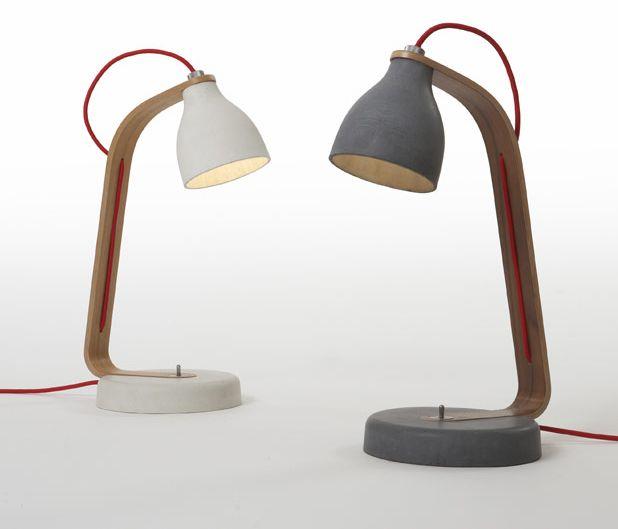 Heavy Desk Light . Benjamin Hubert