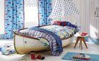 Tessuti camera da letto bambino; tessuti pirata, tessuti barche e stile nautico