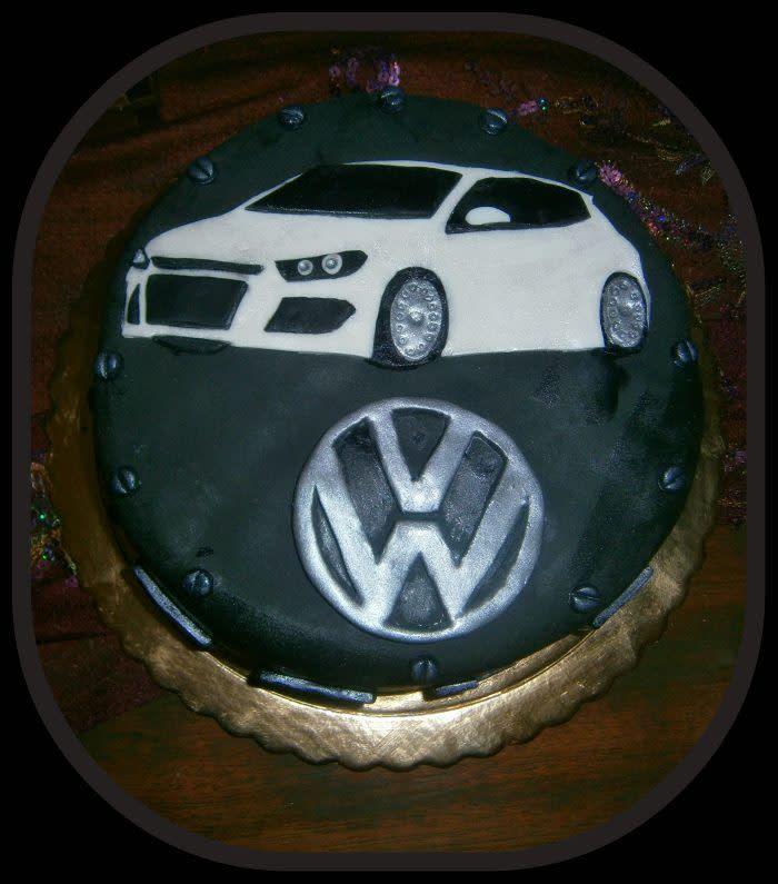 Golf Chocolate Cake