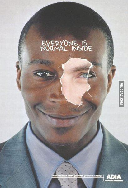 Anti-racism poster gone wrong
