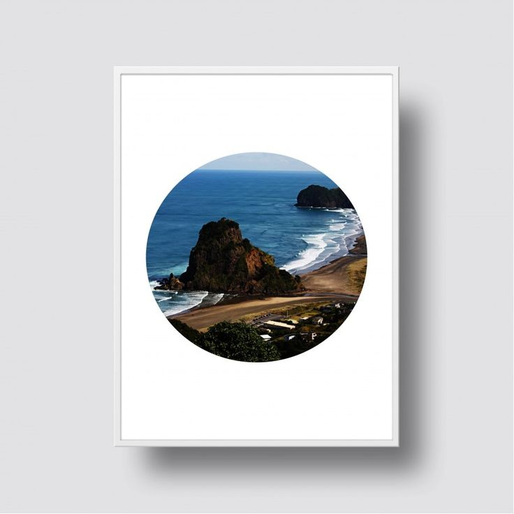 Lion Rock - Piha Scenic Print - A5, 8x10, A4, 11x14 or A3 Print