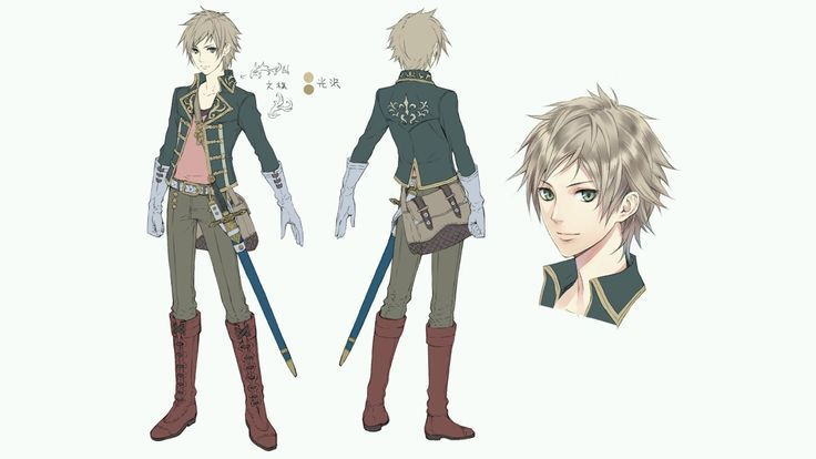 Male Anime Character Design Google Search Charakterdesign Anime Charakter Weibliche Charakterdesign