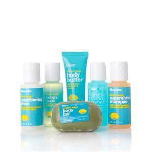 Bliss Lemon & Sage Sink-Side Six-Pack Gavesett I 6 Deler fra BliVakker. Om denne nettbutikken: http://nettbutikknytt.no/blivakker-no/