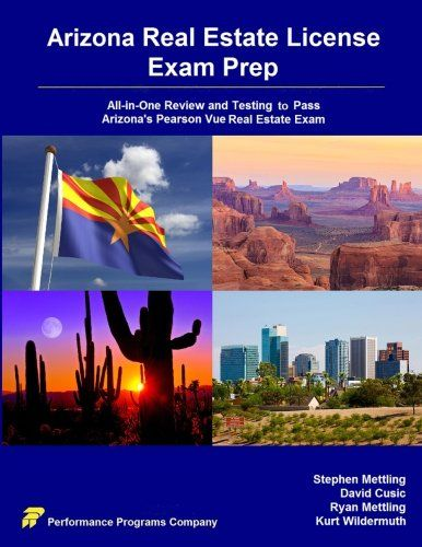 Arizona Real Estate License Exam Prep: All-in-One Review and Testing to Pass Arizona's Pearson Vue Real Estate Exam  US $760.31 & FREE Shipping  #bigboxpower