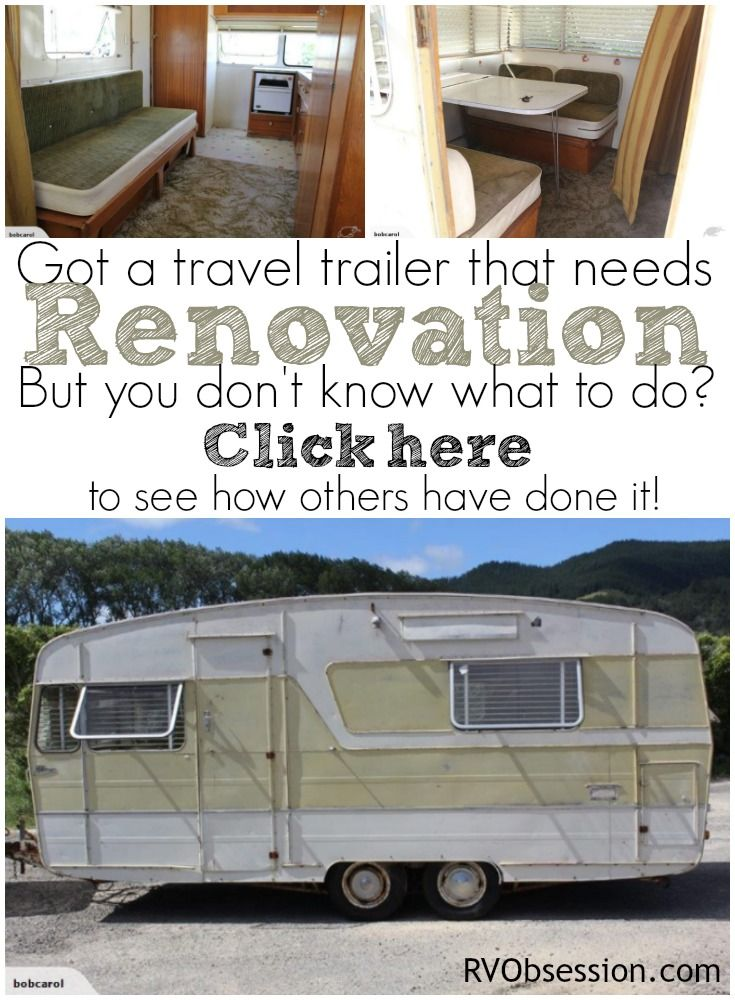 Travel Trailer Renovations - do you need some inspiration for your own travel trailer or caravan renovation. Or do you just LOVE seeing how other people can take a drab piece of history and bring it back to a shining and stunning home on wheels!
