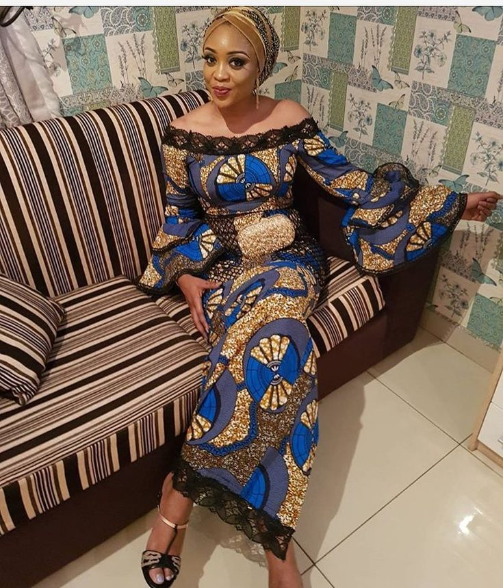 Gorgeous in Ankara style @bissie_o #ankaracollections