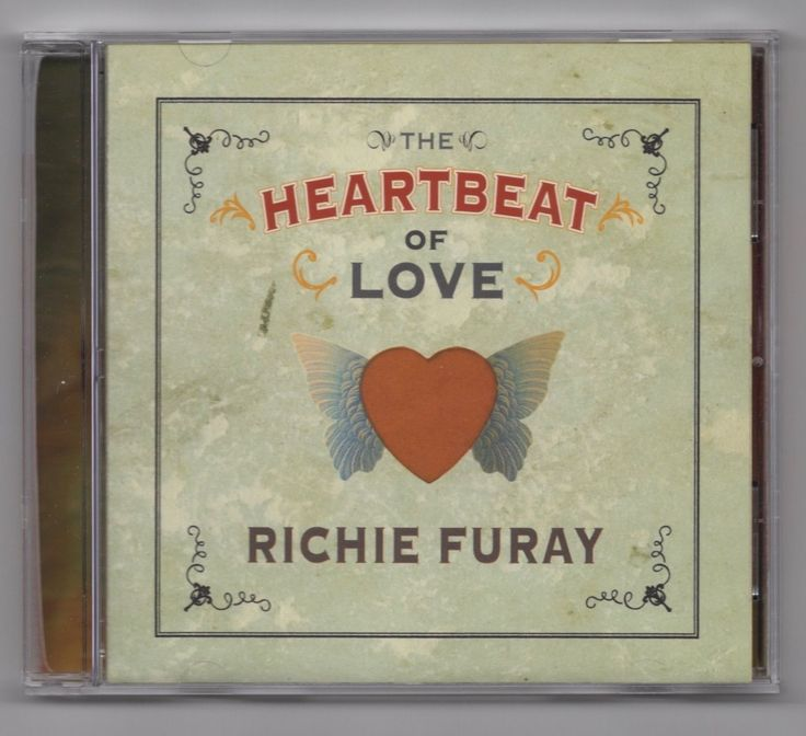 The Heartbeat of Love by Richie Furay (CD-2007 Friday Music)