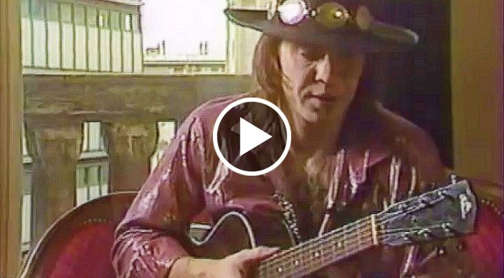 Lost Footage Of Stevie Ray Vaughan Shredding An Acoustic Guitar Surfaces
