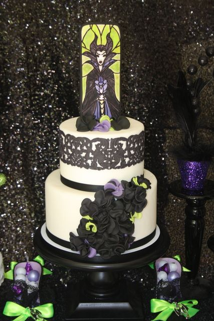 25 Best Ideas About Maleficent Cake On Pinterest Disney