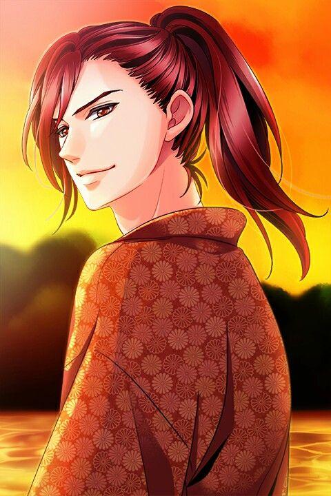 "Shingen: ""Let's go home.. "" #SamuraiLoveBalladParty #FirstEventStory #SeasonsOfBeguilingLove #SunsetOnTheSea"