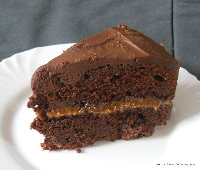 Me and my delicious me: Brownie dort s karamelem