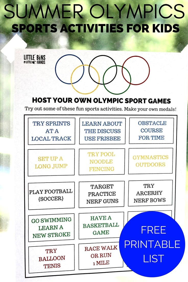 olympic sports activities printable for kids summer olympics activities summer and kid summer. Black Bedroom Furniture Sets. Home Design Ideas
