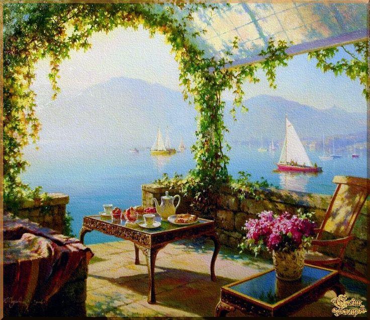 Mediterranean - 132 Средиземноморье, картины, подарки