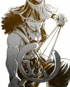 绣幕伊人采集到海贼王  Usopp - One Piece - Mugiwara Pirate