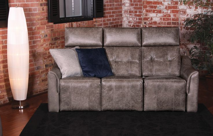 NEW Chill sofa, Jazz collection by Jaymar. Retractable head-rest Motorized reclining mechanism. Made in Canada