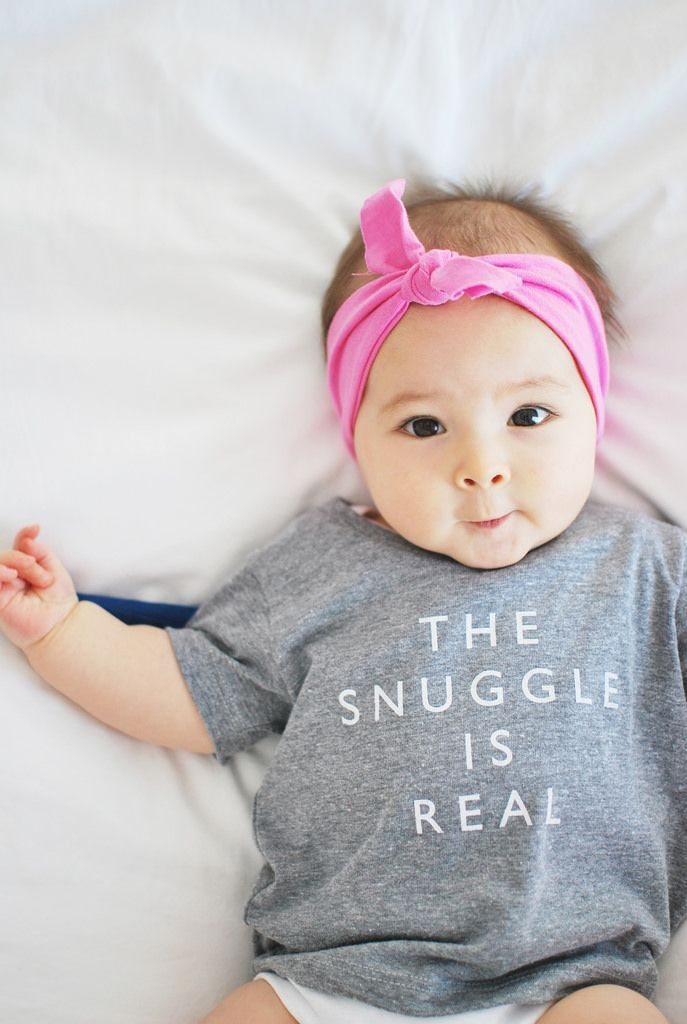 'The Snuggle Is Real' Tee // ProperHunt... by http://www.polyvorebydana.us/baby-girl-fashion/cheerily-the-snuggle-is-real-tee-properhunt/
