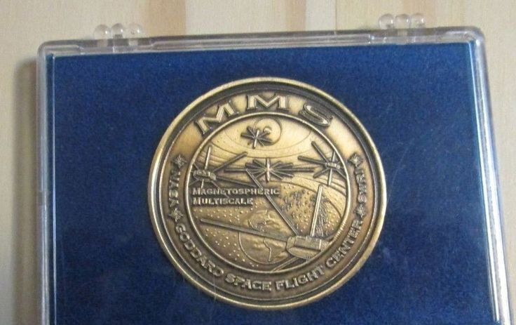 GSFC MMS SWRL IMAGNETOSPHERIC MULTISCALE NASA GODDARD SPACE FLIGHT CENTER COIN