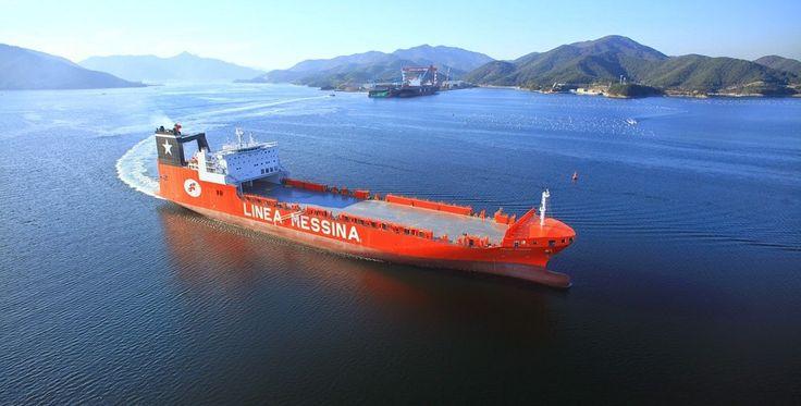 Jolly Titanio, il tricolore sulla ro-ro portacontainer più grande del mondo - Pazzo per il Mare