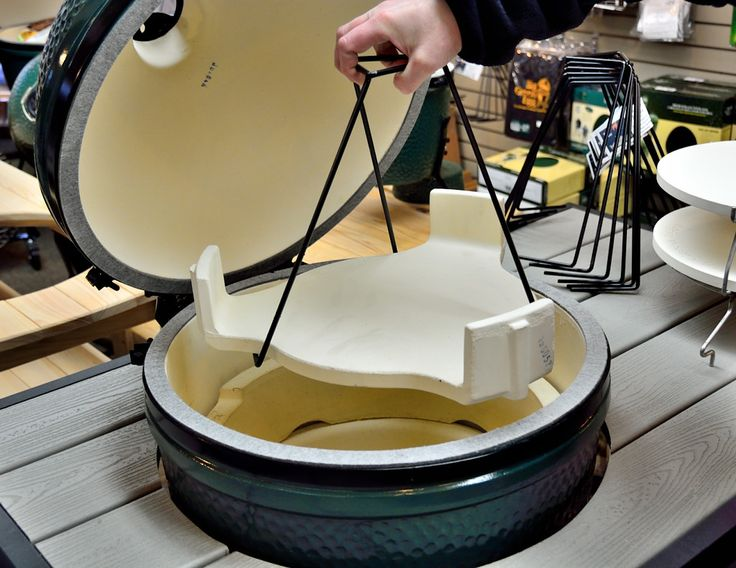 Big Green Egg Plate Setter Claw