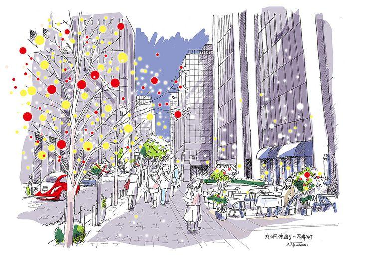 "https://flic.kr/p/dydk6N | クリスマスの丸の内仲通り | The Christmas season in ""naka-dori"" the street of Marunouchi at Tokyo"