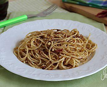 SPAGHETTI ALLA BELLA SICILIA (Primo piatto saporito)