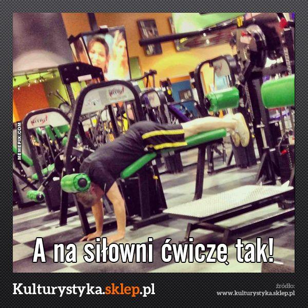 Jak nie ćwiczyć na siłowni