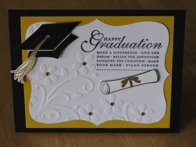 Happy Grad by AnnetteMac - Cards and Paper Crafts at Splitcoaststampers