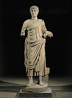 Emperor Valentinian I, the 65th Roman Emperor.