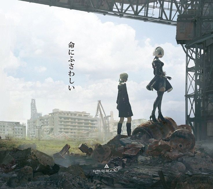 """NieR Automata"" PS4 Collaboration ""Worthy of life"" CD + DVD + Original Book"