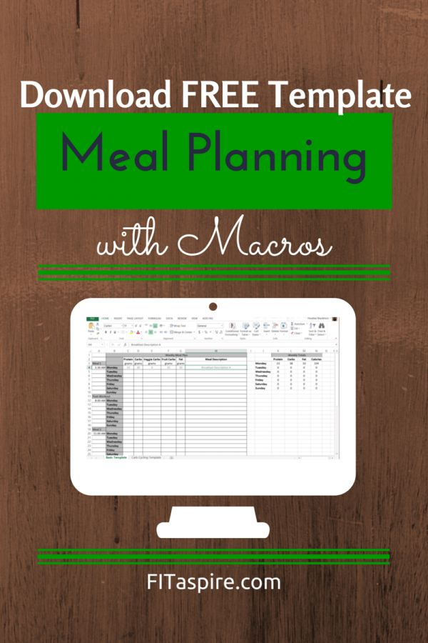 I've been refining a meal planning template to help with make following a macro nutrition plan easier. Options for simple macros and carb cycling to make this nutrition lifestyle easy!! #IIFYM