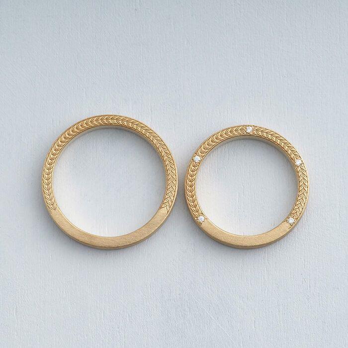 オーダーメイド結婚指輪 アローロ   オーダーメイドはithイズマリッジ結婚指輪工房