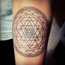 Image result for sri yantra tattoo