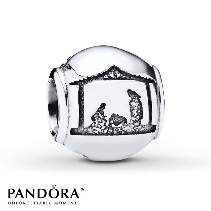 Pandora Charm Silent Night Sterling Silver. I want this one!! The nativity is my favorite. Jesus came to save the world!