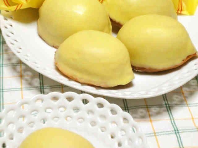 生クリーム使用でふんわり「レモンケーキ」の画像