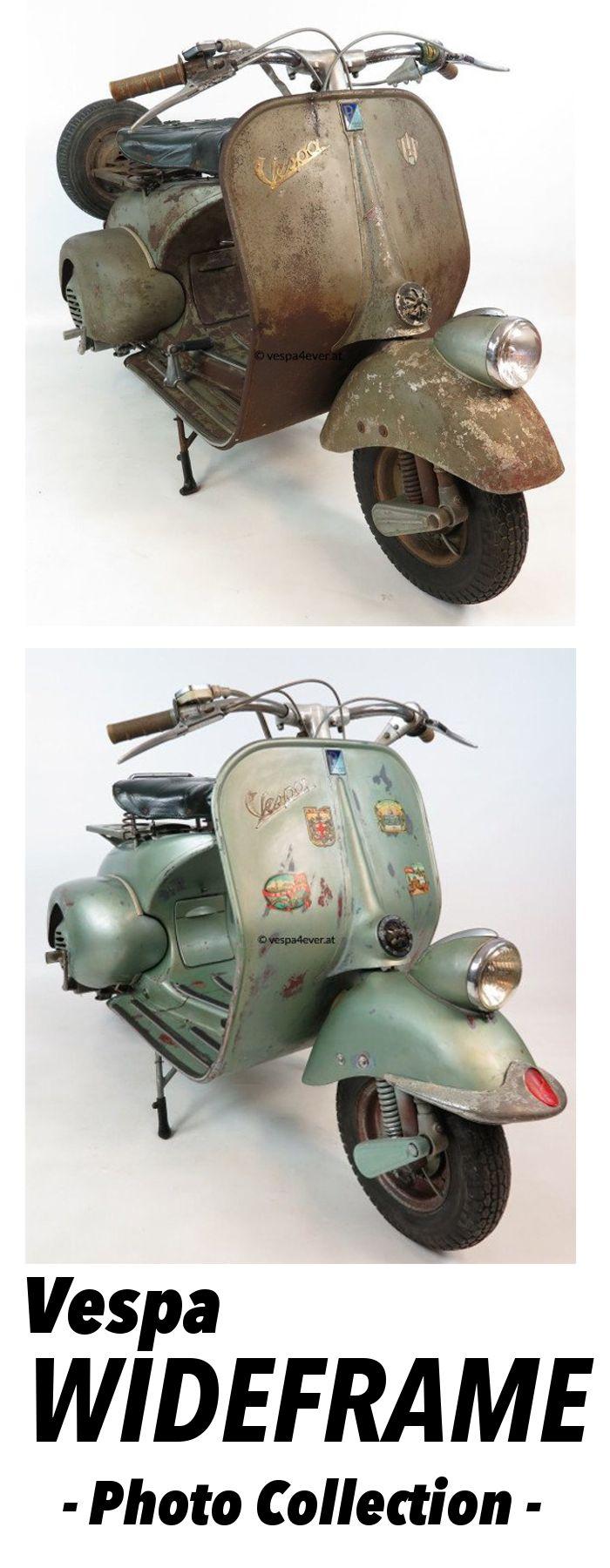 Vespa Wideframe Vintage Scooters