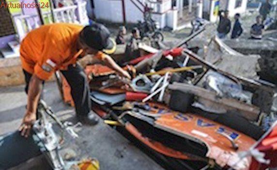 Indonezja: Katastrofa helikoptera. Zginęło osiem osób