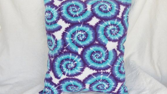 Tie Dye Pillow Covers Large Pillow CoversTie Dye by MzGeezDesigns